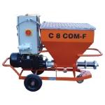 Pompe de injecţie şi pompe de tencuit C 8 COM-F
